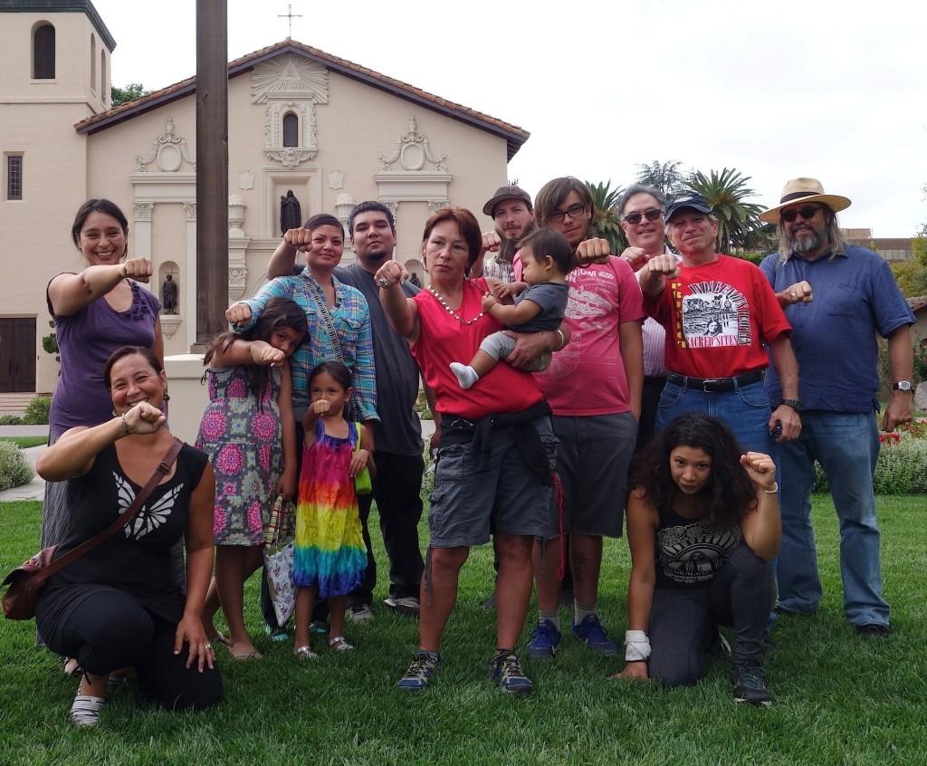 At Mission Santa Clara